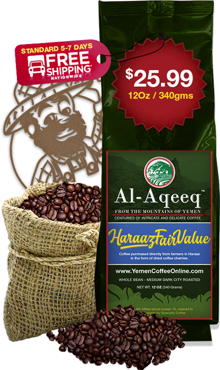 Yemen Coffee Online Haraaz Fairvalue 340g